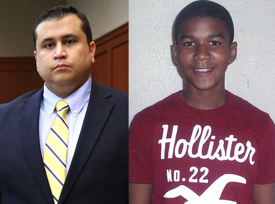 george zimmerman and trayvon martin