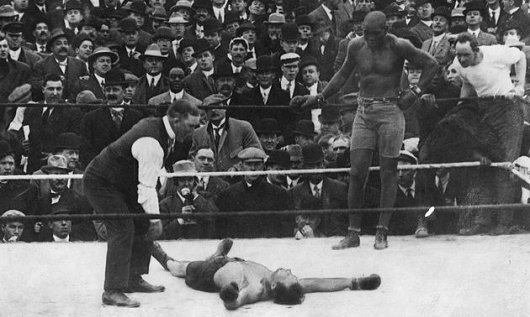 Race Riots Broke Out After Jack Johnson Boxing Match