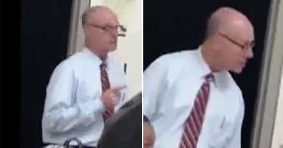 Video: Teacher put on leave after threatening to shoot student for mouthing off in class