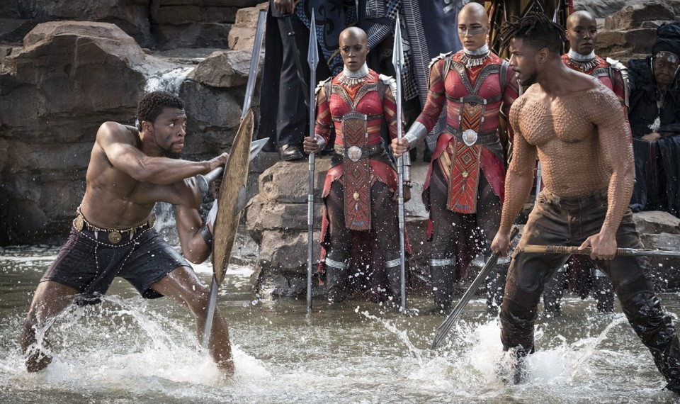 Black Panther breaks box office records earning $218 million opening weekend