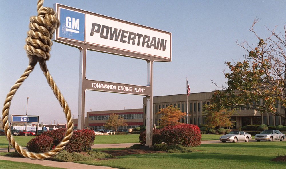 Black GM Workers Sue Over Nooses And 'Whites Only' Signs ...