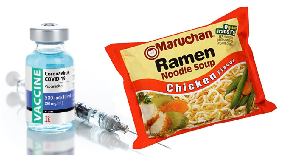 State Jail Offering Inmates Packs Of Ramen Noodles As Incentive To Get COVID Vaccine